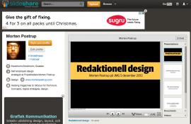 Några av mina presentationer finns på Slideshare.net